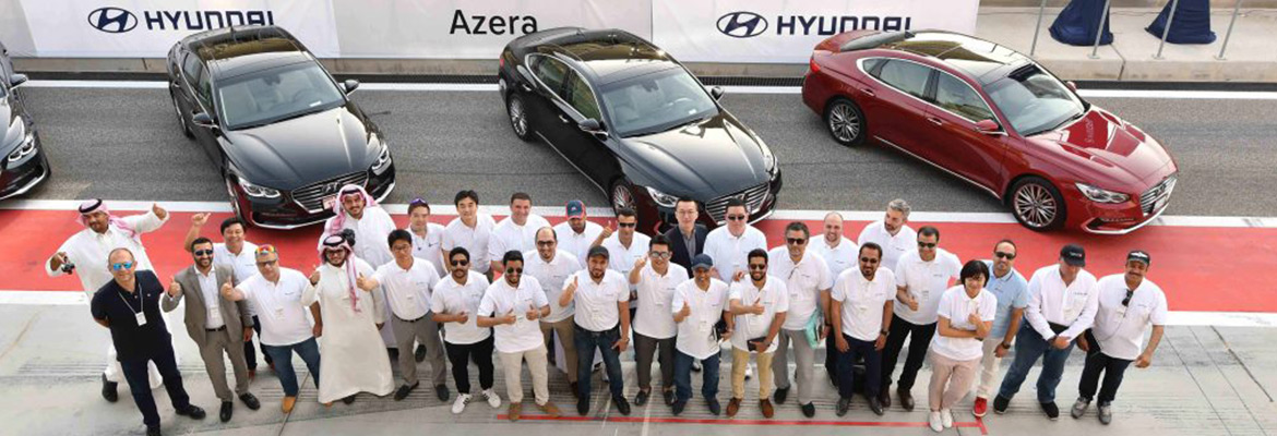 Hyundai's New-generation Azera Delivers Comfort, Safety, and Extra Power for Middle East Launch