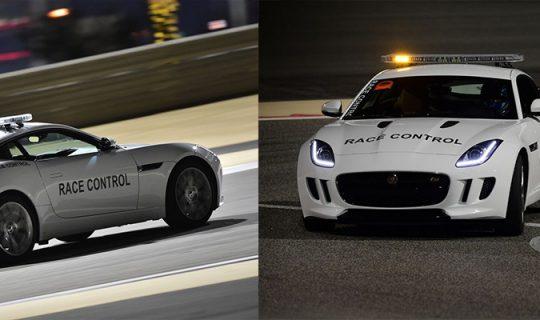 Jaguar Vehicles Chosen As Safety Cars by Bahrain International Circuit